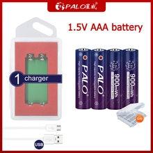 Аккумуляторная батарея palo 15 в aaa 900 мАч литий ионные батареи