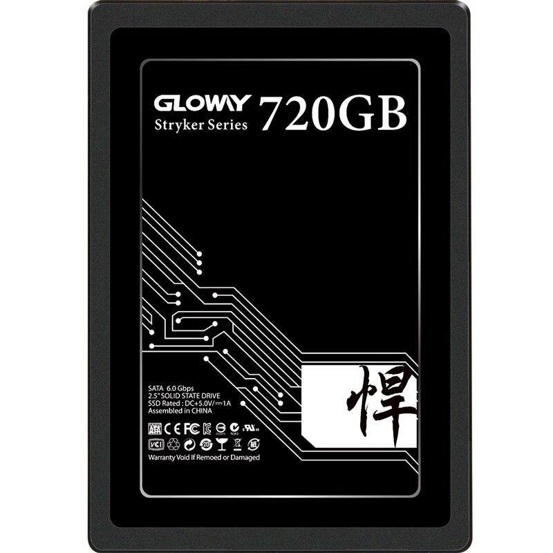 """Disque ssd Gloway 2 to SATA3 2.5 """"480 go 240 go 720 go 1 to pour pc de bureau haute performance HD"""