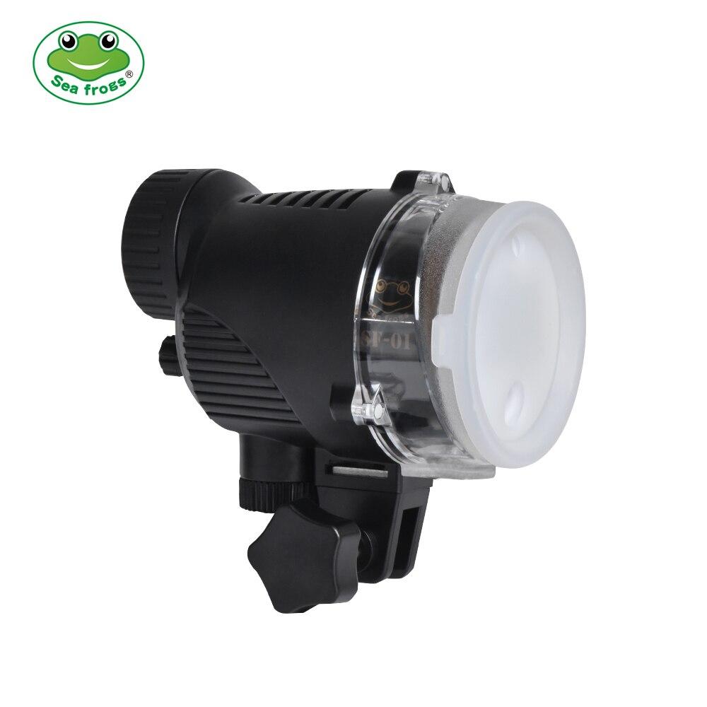 Водонепроницаемый стробоскоп SeaFrogs SF01 Pro для подводной камеры A6500 A6000 A7 II RX100 I/II/ III/IV/V