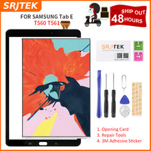 Srjtek T560 LCD Touch Panel Per Samsung Galaxy Tab E SM-T560 T560 T561 Display LCD Con Pannello Touch Screen Digitizer montaggio(China)