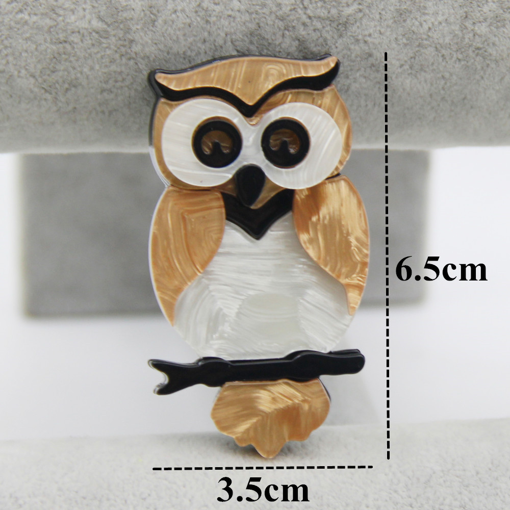 Lovely Resin Owl Brooches For Women Kids Handmade Vivid Animal Bird Acrylic Brooch  Pins Jewelry Broches Fashion Jewelry Gifts - Hot Sale #5A3979 | Cicig
