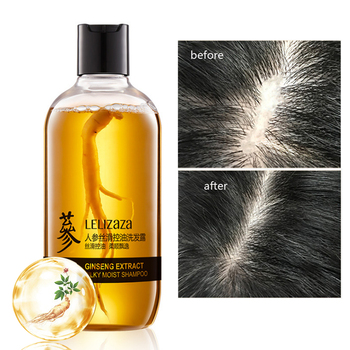 Ginger Root Essence Hair Shampoo Ginseng Repair Hair Growth Nourishing Anti dandruff Shampoo Herb Professional Care 500ml nourishing shampoo