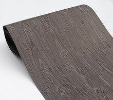 2pcs  Width:62cm L:2.5Meters  Black Oak Wood Veneer