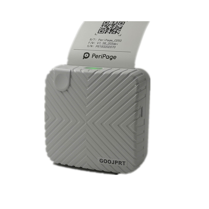 white New Arrival P6 mini thermal bluetooth photo printer for mobile (10)_副本_副本