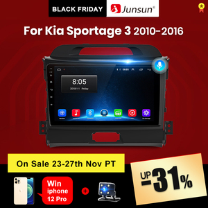 Junsun V1 pro 2G+128G Android 10 For Kia Sportage 3 2010 2011 2012 2013 - 2015 2016 Car Radio Multimedia Video Player GPS DVD