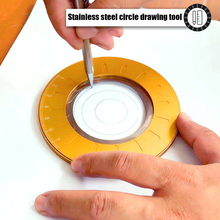Drawing Ruler Tool Rotatable Drawing Circular Compass Flexible Circle Measuring for Household Wooden Accessories