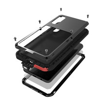 Armor Metal Shockproof Case For Samsung Galaxy A72 A50 A51 A52 A32 A41 A21 A71 5G A20 A30 A70 A30s S20 Fe Cases Cover funda