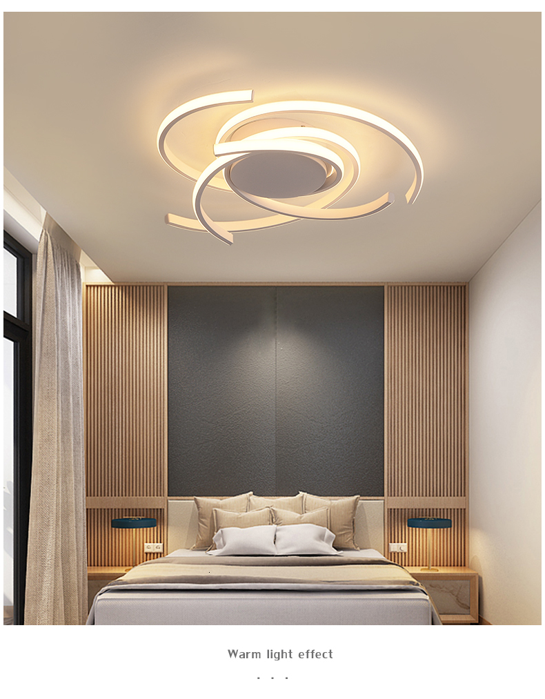 Ha232374301ea45dfbe64c61e7bb4815cQ Creative modern led ceiling lights living room bedroom study balcony indoor lighting black white aluminum ceiling lamp fixture