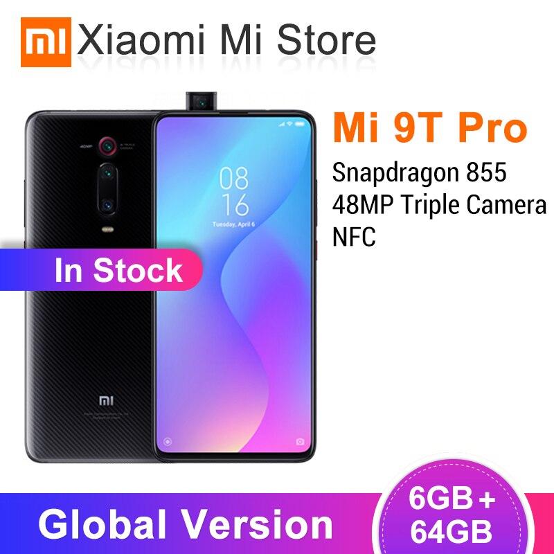 Nouvelle Version mondiale Xiao mi mi 9T Pro (Red mi K20 Pro) 6GB RAM 64GB ROM 48MP + 20MP AI caméra 4000mAh 6.39