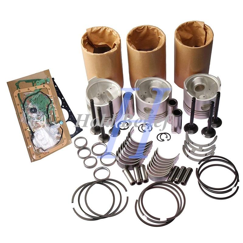 Revisione Ricostruzione Kit Per Yanmar 3TN84L-RB 3TN84 3TN84E-RK 3D84N-2C di Riparazione Del Motore
