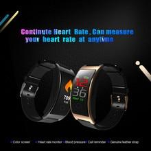 2019 CK11C Smart Bracelet Blood Pressure Watch Heart Rate Sleep Message Monitor Wrist Band Sport Fitness Tracker Smartband