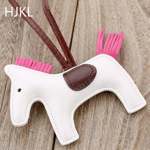 PU Leather Mini Pony Pendant Famous Brand 2019 Handmade Pendant Accessories Fashion Jewelry Christmas Charms for Women's Bags