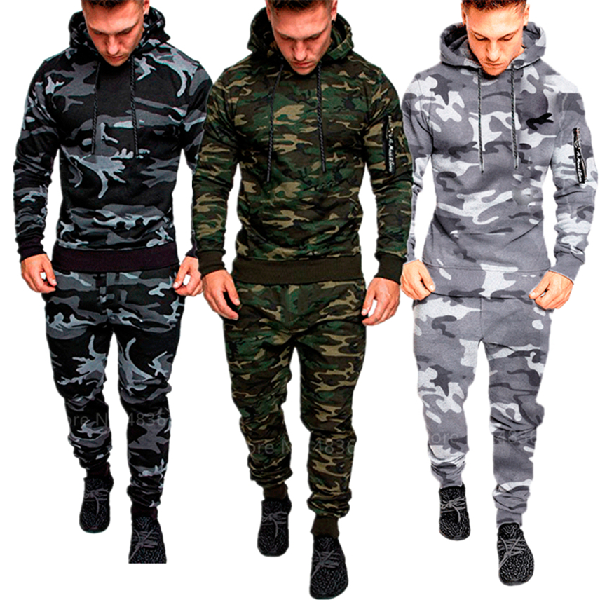 2019 New Men Army Military Uniform Camouflage Tactics Combat Shirt Soldier Outdoor Training Costumes Clothing Pant Set M-3XL