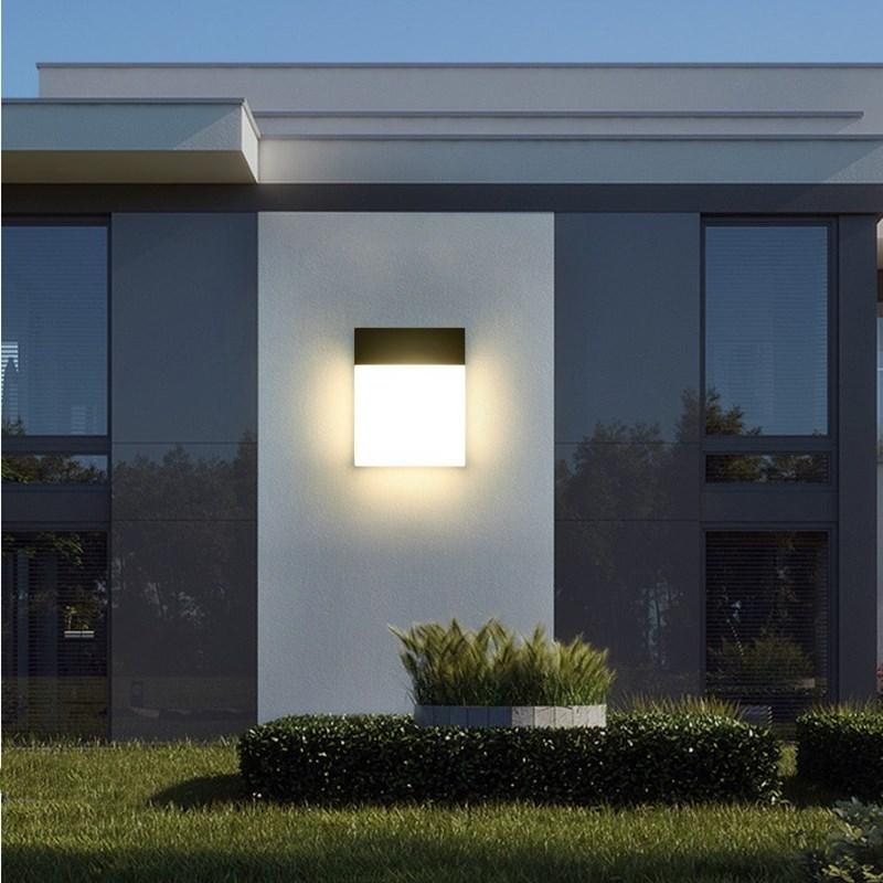 Kenlux 12W Outdoor LED Wandlamp nieuwe ontwerp Opbouw lamp Indoor Woonkamer Veranda verlichting Aluminium Versieren Muur licht