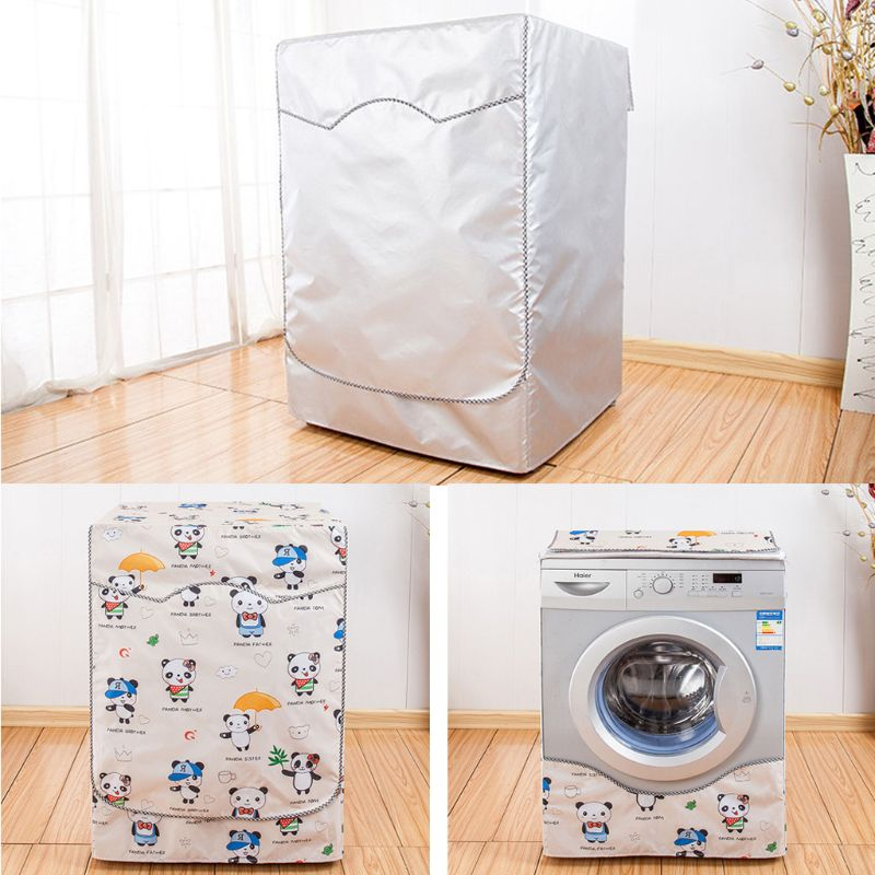 Washer Cover Waterproof Anti Dust Fully Automatic Roller Household Laundry Coat 19QE
