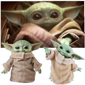 8CM/16CM/30CM/ Star Wars Glow Yoda Baby Action Figure Toys  Yoda Figure Toys Yoda Master Figuras Dolls Toy Gifts for Children цена 2017