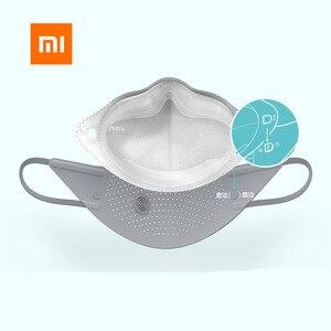 Image 4 - Xiaomi mijia AirPOP Air Wear PM0.3 / pm2.5 антидымчатая маска для лица с 2 шт фильтром регулируемые Висячие удобные маски для лица