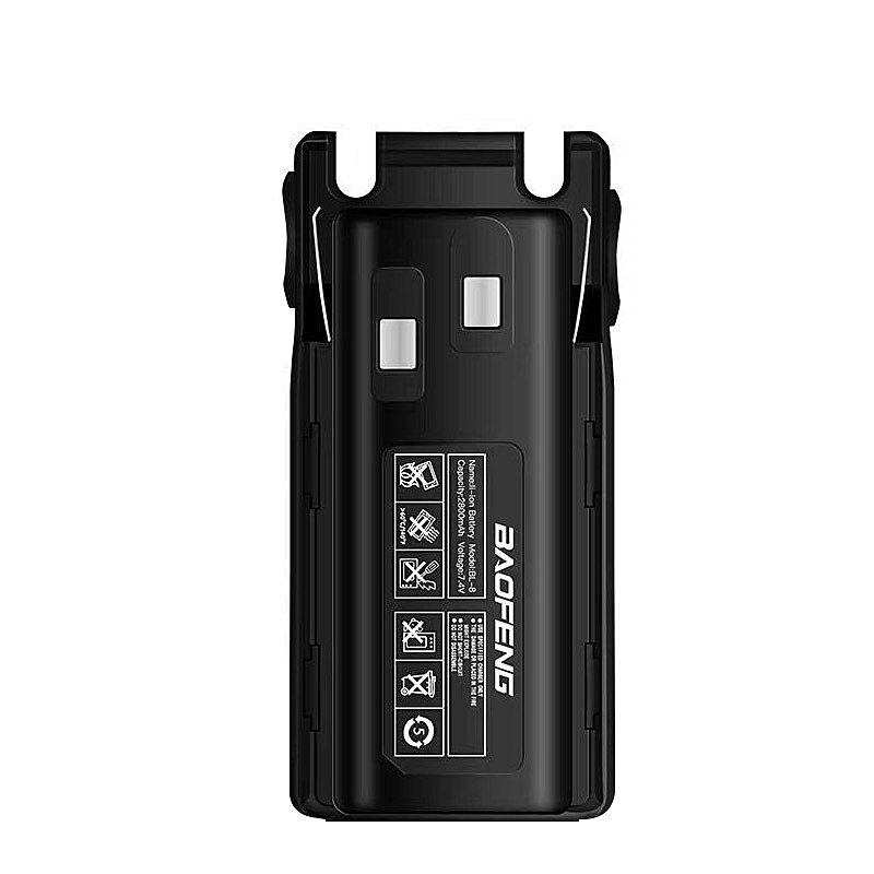 100% Original Baofeng UV-82 UV-8D Li-ion Battery 2800mah BL-8 For Two Way Radio Walkie Talkie UV8D UV 82 Accessories Pofung UV82