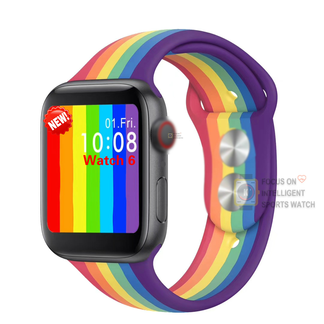 <font><b>IWO</b></font> 12 <font><b>44mm</b></font> Watch 6 W26 Smart Watch Bluetooth Call <font><b>Smartwatch</b></font> Heart Rate for Apple Android Phone better than <font><b>IWO</b></font> 11 10 9 <font><b>8</b></font> Plus image