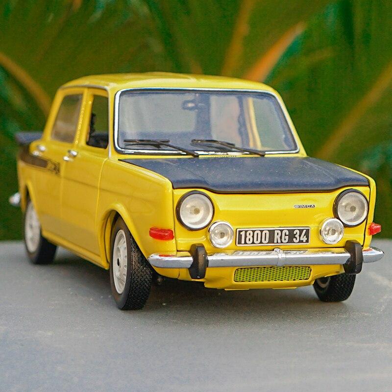 Simca 1000 Rallye rojo coche en miniatura Atlas 1:43