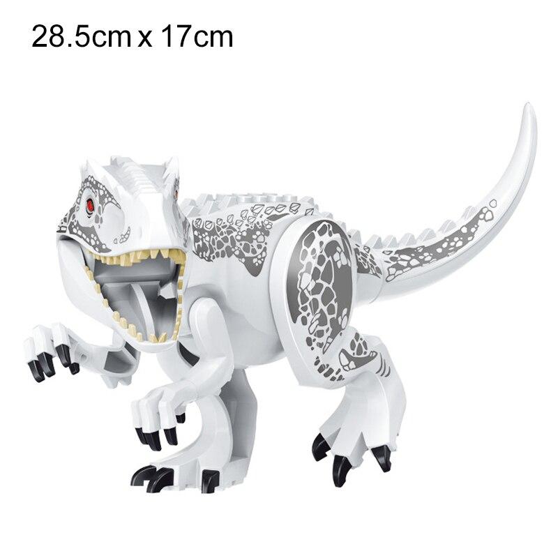 NEW 2020 Jurassic Building Blocks Dinosaur Tyrannosaurus Pterosaur Figures Bricks compatible Tyrannosaurus Assemble Kids Toys 5