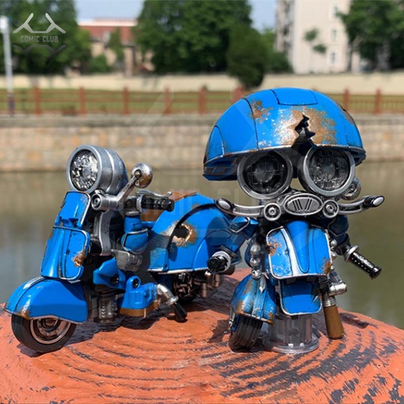 COMIC CLUB weijiang battle damage Q Ver AUTOBOT SQWEEKS metal alloy parts Action Figure robot toyAction & Toy Figures   -