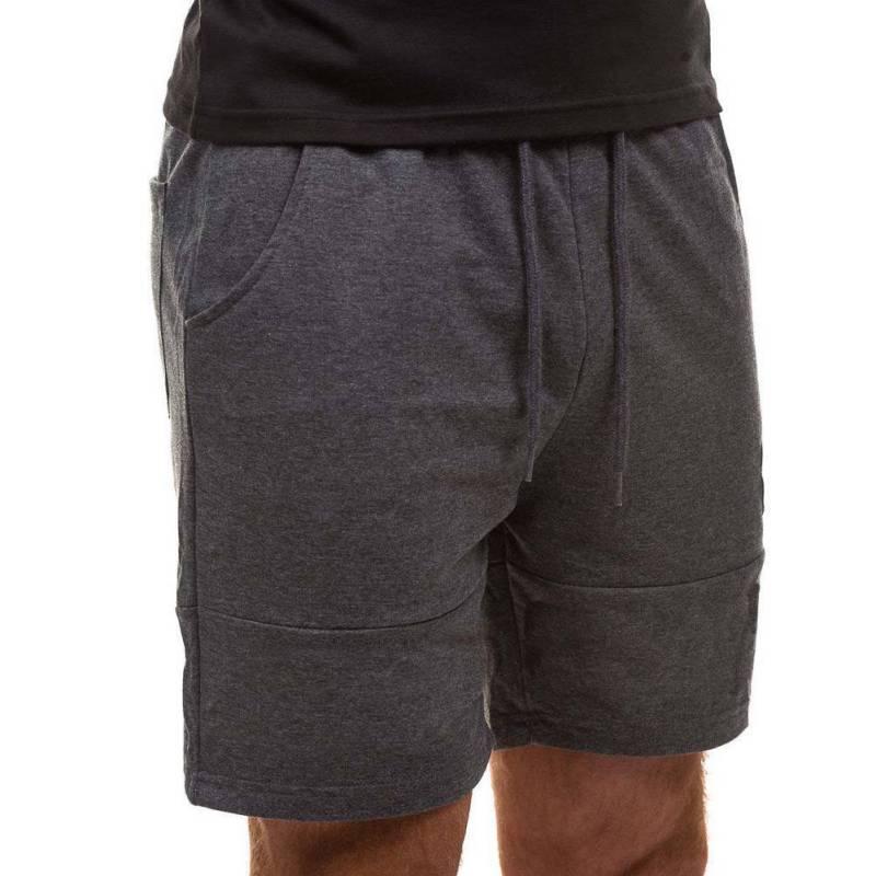 New Mens Jogger Short Pants Men Casual Fitness Shorts Drawstring Pocket Home Sporting Clothing Bermuda Masculina Short Hombre