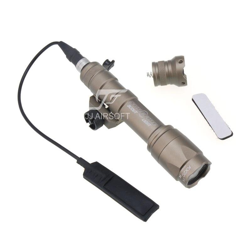 Элемент SF M600C Скаут светильник светодиодный светильник оружие(черный/коричневый)(ePacket/HongKong Post Air Mail - Цвет: Tan