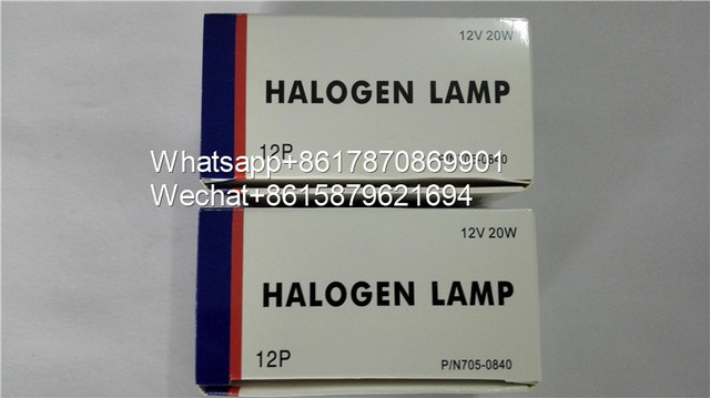 NJK10277 Hitachi 12V 20W Halogen Lampe P/N705 0840 Biochemie Analyzer7020 7170 7180 7600 Roche P800 P/N 705 0840 12V20W Birne
