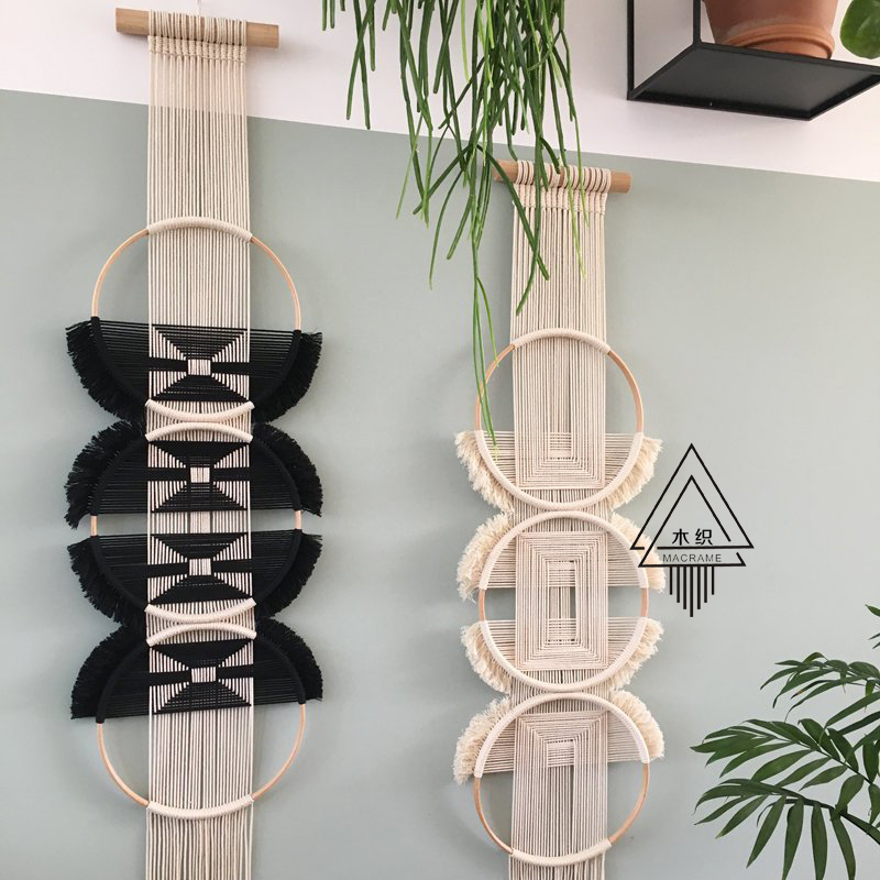 100% ручной работы творческое, настенное плетеное гобелен Скандинавское украшение домашний Ловец снов украшение для дома