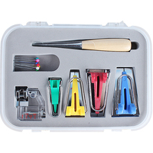 Multi-function Household Electric Sewing Machine Accessories Bias Tape Maker Kit 18*14*3cm
