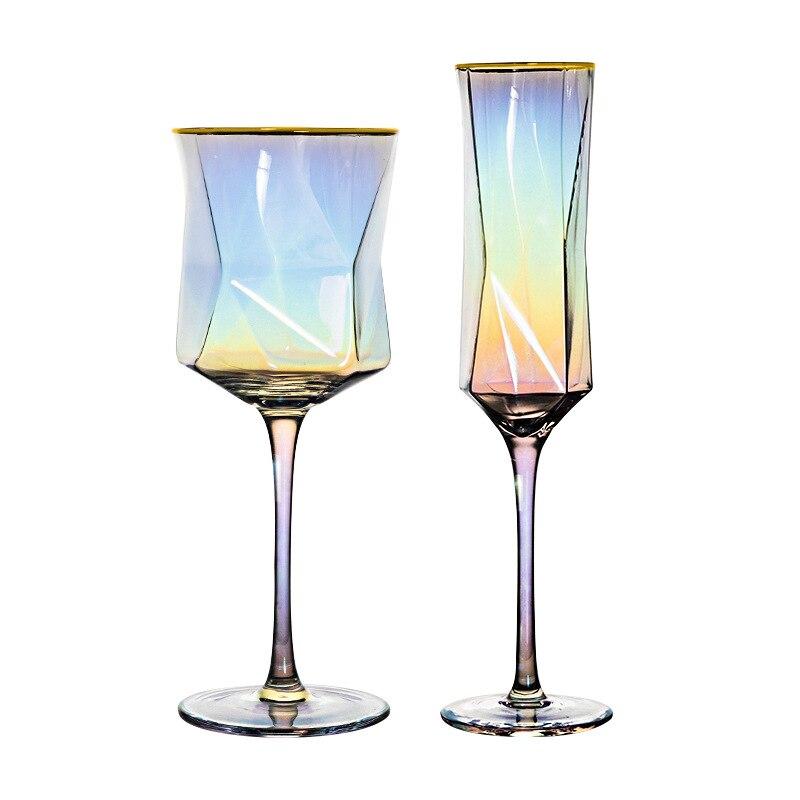Бокал для вина креативные стеклянные бокалы с созвездиями из