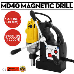 Free shipping for EU MD40 240V 40mm Mag Drill Magnetic Rotabroach Type Commercial Magnetic Drilling