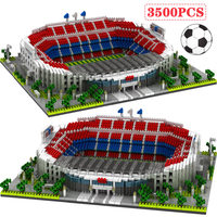 Mini Bricks Building Blocks Diamond Blocks Famous Architecture Football Soccer Field Soccer Camp Nou Signal Lduna Park Kid Toys