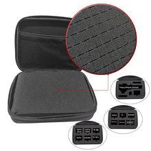 Bolsa de transporte de viaje portátil, estuche de almacenamiento EVA duro para Sony X1000 X1000V X3000 AS300 AS50 AS15 AS20 AS30 AS100 AS200 AZ1 Mini PO