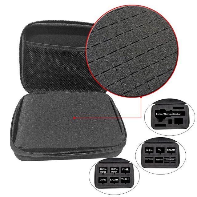 Portable Travel Carrying Bag Hard EVA Storage Case for Sony X1000 X1000V X3000 AS300 AS50 AS15 AS20 AS30 AS100 AS200 AZ1 Mini PO