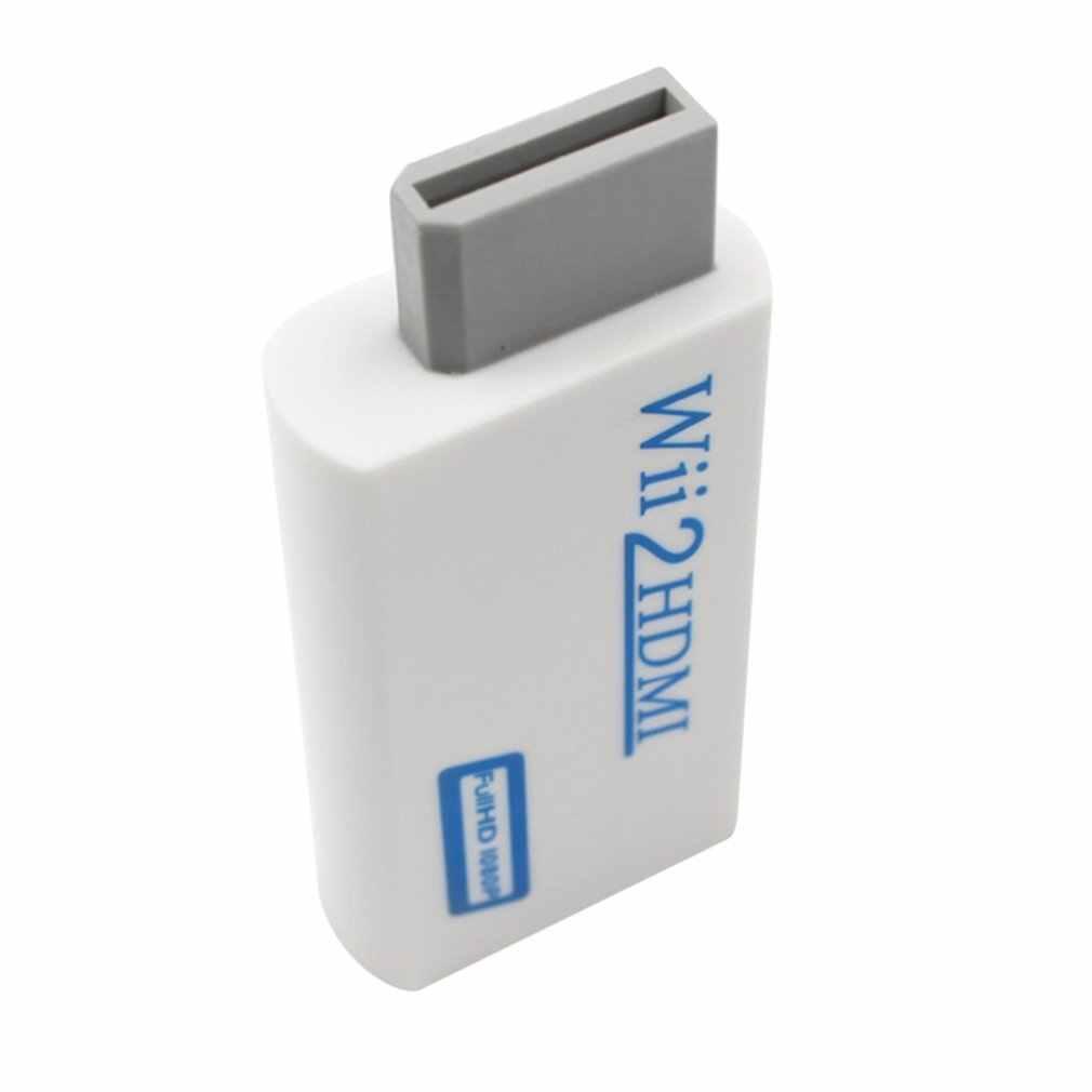 Untuk Nintendo Wii Kerumitan Gratis Plug dan Bermain untuk Mando Wii untuk HDMI 1080 P Adaptor Wii2hdmi 3.5 Mm audio Box untuk Wii-Link