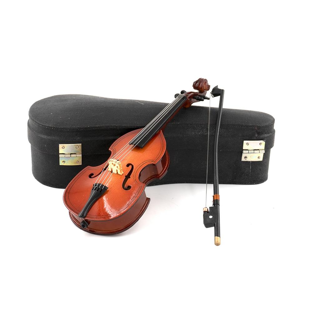 Miniatur Gambe Mini Musikinstrument Dekoration