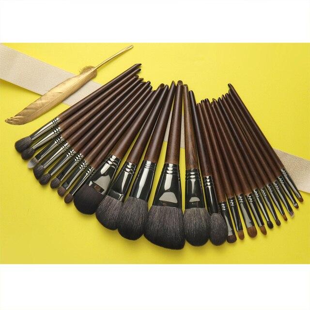 OVW Natural Goat Hair Eyeshadow Makeup Brushes Set nabor kistey Crease Blending Highlighting Brush pinceaux maquillage kit 1