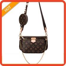 New Fashion Brand Designer 3-IN-1 Messenger Handbag Luxury Brand Crossbody Bags Tote Clutch New Shoulder Bag Purses Handbags