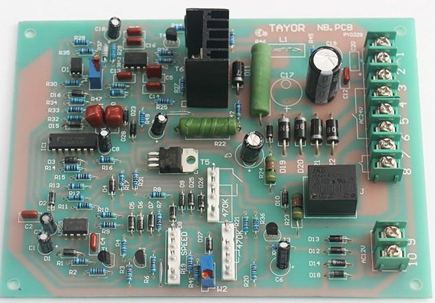 NBC Series Tap Gas Shielded Welding Control Board Green Nail Interface Circuit Board
