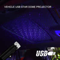 New Car Styling USB interior decoration Light Star Sky Laser Lamp Auto Projection Adjustable Multiple Atmosphere Galaxy light
