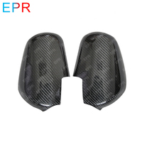 OE Style Carbon Fiber Glossy Finished Mirror Cover Exterior Body kits Car accessories For Nissan R32 Skyline GTR GTST