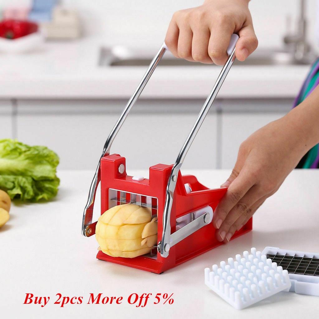 Lames Chrome plaqué pomme de terre frite frites copeaux Cutter Cuisine Outils Accessoires Mutfak Aksesuarlari Outils de Cuisine