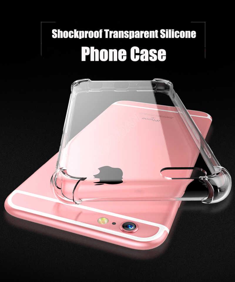 Мягкий прозрачный чехол из искусственной кожи для iPhone 11 Pro MAX 2019 X XR X 6 7 8 6S Plus 5 SE 5s телефон оболочка Силиконовые чехлы Coque Capa