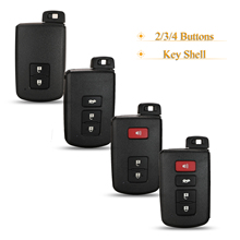 Kutery 2/3/4 כפתורים רכב מרחוק מפתח shell Fob עבור טויוטה אבלון קאמרי RAV4 קורולה הנצח