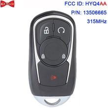 KEYECU для дистанционного ключа Buick Encore 2017 2018 2019 2020 FCC ID: HYQ4AA P/N: 13506665 315 МГц