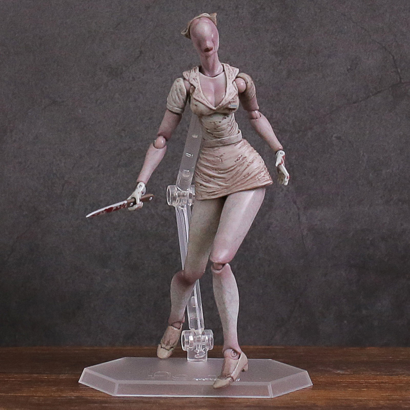 Figma Sp061 Silent Hill 2 Bubble Head Nurse Pvc Action Figure
