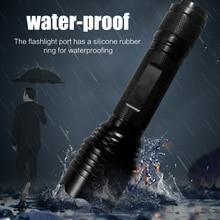 Головной поисковый фонарь 18650 литиевый аккумулятор мощный фонарь T6 светодиодный фонарик для предотвращения чрезвычайных ситуаций
