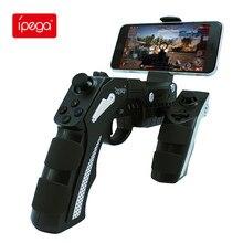 Ipega PG9057S Gamepad juego arma juego de Bluetooth Joystick para teléfono PUBG controlador Jogos Mando consola de palanca para Хiaomi